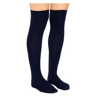 Ambition Knee-High, 15-20, Long, Closed, Size 5, Navy  BI7766034-Pack(age)