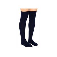 Ambition Knee-High, 30-40, Regular, Black, Size 3  BI7766302-Pack(age)