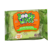 Boogie Wipes Saline Nose Wipes Fresh Scent  BOO816167010536-Pack(age)