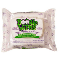Boogie Wipes Unscented Saline Nose Wipes  BOO816167011403-Pack(age)