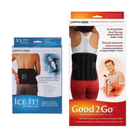 Back Pain Kit with Moist Heat and Cold Therapy  BTF00650-Each
