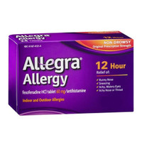 Allegra Allergy 12 Hour Non Drowsey Tablet  CHA04116741314-Each
