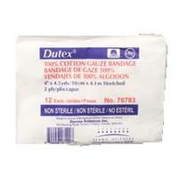 """Dutex Conforming Bandage 4 x 4-1/10 yds., Nonsterile  DE76783-Pack(age)"""""""