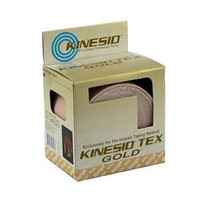 Kinesio Tex Gold Wave Elastic Athletic Tape 1 x 5.4 yds., Beige  FJ7550001-Pack(age)""