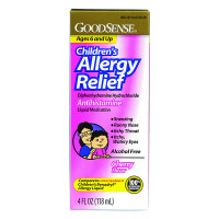 Children's Allergy Relief Liquid, 4 oz., Cherry  GDDLP13012-Each