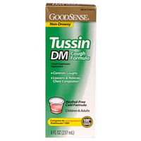 Tussin DM Cough Syrup for Children and Adults, 8 oz.  GDDLP35934-Case