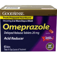 Omeprazole Tablet, 20 mg (42 Count)  GDDLP91555-Box