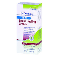 TriDerma Diabetic Bruise Defense Healing Cream, 2.2 oz.  GVA65025-Each