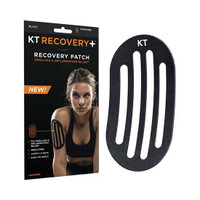 KT Tape Recovery+ Patch, Black  KJ9020192-Box