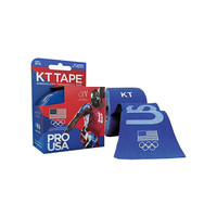 "KT Synthetic Tape Team USA Pro, 4 x 4"", Blue  KJ9020253-Box"""