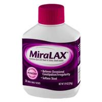 MiraLAX Laxative, Powder for Solution, 17.9 oz  MER041100820716-Each