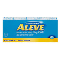 Aleve All Day Strong Pain Reliever, Fever Reducer, Caplets  MER325866001023-Each