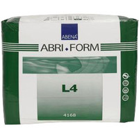 "Abri Form Comfort Extra Plus Brief, Large, 39 - 59""  RB4168-Case"""