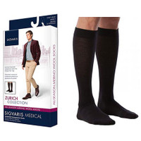 All Season Merino Wool Calf, 20-30, Medium, Long, Closed, Black  SG242CMLM99-Each