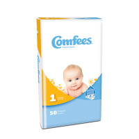 Comfees Baby Diapers - Size 1  48CMF1-Case
