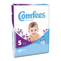 Comfees Baby Diapers - Size 5  48CMF5-Case