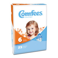 Comfees Baby Diapers - Size 6  48CMF6-Case