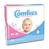 Comfees Girl Training Pants - Size 2T-3T  48CMFG2-Case