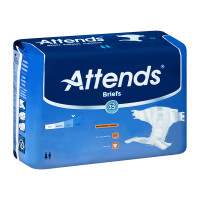 "Attends DermaDry Advance Briefs Large 44"" - 58""  48DDA30-Case"