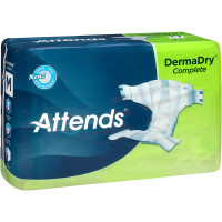 "Attends DermaDry Complete Briefs Medium 32"" - 44""  48DDC20-Case"