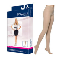 EverSheer Pantyhose, 15-20, Large, Long, Closed, Natural  SG781PLLW33-Each