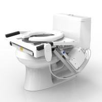 Tilt Toilet Seat Lift Single Motor Standard Seat  HNTILTSMSS-Each