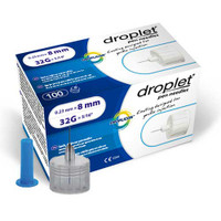 Droplet Pen Needle 32G (0.23mm) x 8mm (100 count)  HT8312-Case
