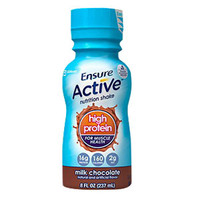 Ensure Active High Protein for Muscle Health Chocolate, 8 oz. Bottle, Retail  5264115-Each