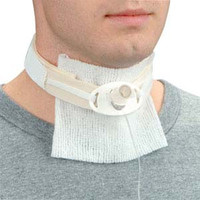 """Trach Tube Holder with Narrow Fastener, Adult, Up to 20"""" Neck Circumference  DRM1151-Each"""