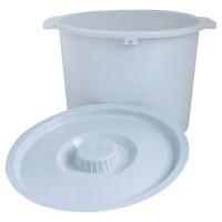 """Replacement Pail with Lid, 6-7/10"""" x 11-1/5""""  INV6317-Case"""