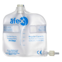 Afex Collection Bag, Direct Connect, 500ml, Standard, Non-Vented  ARSA400B-Case