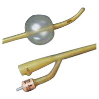 BARDEX 4-Wing Malecot Catheter 14 Fr  57086014-Case