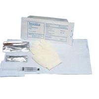 BARDIA Foley Insertion Tray with 10 cc Syringe and BZK Swabs  57802110-Case