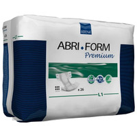"Abri-Form Premium Adult Briefs, L1 - Large, 39 to 60"", 2500 mL  RB43066-Case"