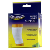 "Bell-Horn Elastic Knee Support, Medium 16"" - 18"" Knee Circumference, Beige  DJ200M-Each"