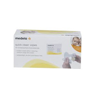 Quick Clean Breast Pump Wipes, 40/Pkg  ML87059-Pack(age)