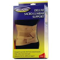 """Bell-Horn Deluxe Sacro-Lumbar Support, Small 24"""" - 30"""" Waist, Beige  DJ224S-Each"""