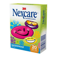 Nexcare Tattoo Waterproof Bandages, Cool Collection  8859420-Box