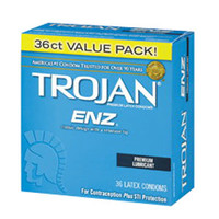 Trojan ENZ Lubricated Condom (36 Count)  BX93950-Box