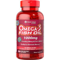 Omega-3 Fish Oil, 1000 mg  WHP337-Case