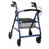 "Basic Rollator, Purple, 31"" - 35"", 6"" Wheel Size  60MDS86850EP-Each"