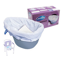 Commode Liner with Absorbent Pad  60MDS89664LI-Each