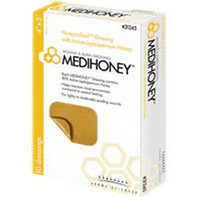 "MEDIHONEY Hydrocolloid Dressing Without Border, 2"" x 2""  DS31222-Each"