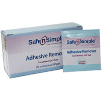 Safe N Simple Adhesive Remover Wipe  RRSNS00651-Each