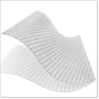 """Mepitel 1 Non-Adherent 1-Sided Soft Silicone Wound Contact Layer 3"""" x 4""""  SC289300-Each"""