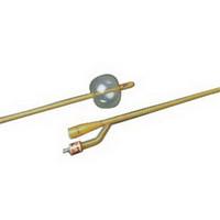 BARDEX 2-Way Silicone-Elastomer Coated Foley Catheter 24 Fr 30 cc  570166V24S-Each