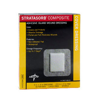 "Stratasorb Composite Island Dressing 4"" x 4""  60MSC3044-Each"