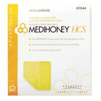 "MEDIHONEY Non-Adhesive HCS Sheet 4.3"" x 4.3""  DS31644-Each"