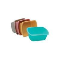 Wash Basin, Rectangular, 7 Quart, Gold  KIH36205-Each