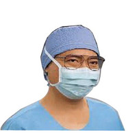Anti-Fog Surgical Mask, Green, 300/Case  KK49215-Case